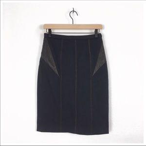 NWT Rag & Bone Navy Glenna Skirt Size 28